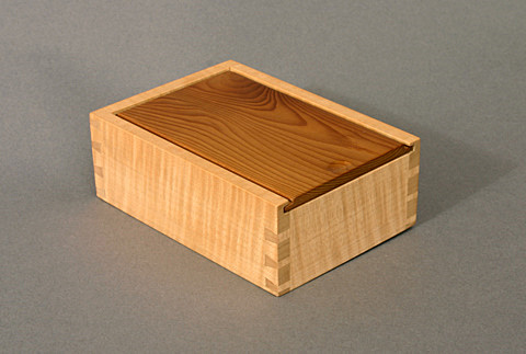 Small dovetailed box