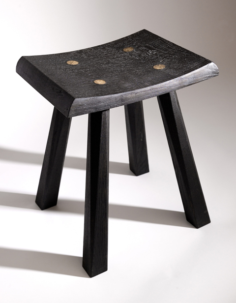 Scorched Earth Stool